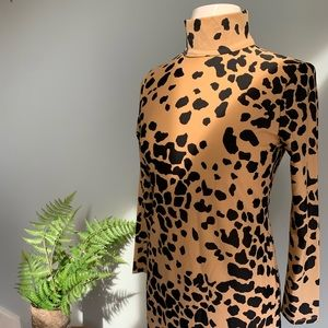 jude connally leopard dress
